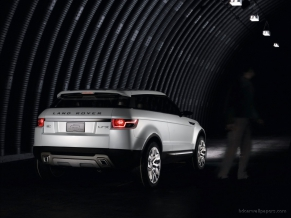 2008 L Rover LRX Concept Tunnel Rear
