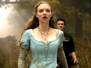 Ama Seyfried in Red Riding Hood Movie