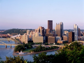 Pittsburgh as Seen From Duquesne Heights