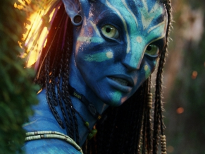 Neytiri Beautiful Warrior in Avatar