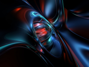 Dark 3D Abstract