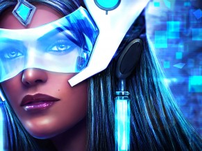 Symmetra in Overwatch Artwork