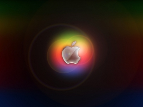 Colorful Glow in Apple