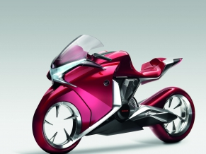 Honda V4 Concept Widescreen Bike