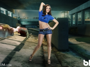 MAXIM Girl for Blur Game