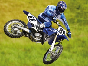 Yamaha Motocross Bike