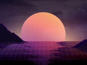 Sunset Retrowave