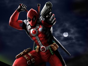 Deadpool Speedpaint