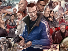 Gr Theft Auto IV Characters