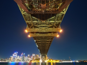 Sydney Bay Bridge