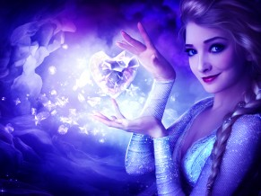Queen Elsa Frozen Heart