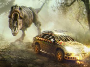 Jurassic World Mercedes Benz GLE Coupe