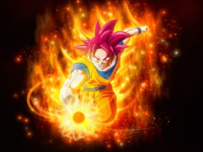 Super Saiyan God Dragon Ball Super Super 4K