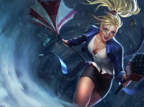 Janna League Of Legends 5K
