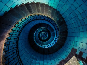 Spiral staircase 4K