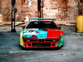 BMW M1 Group 4 Rennversion Art Car by y Warhol Italdesign 4K