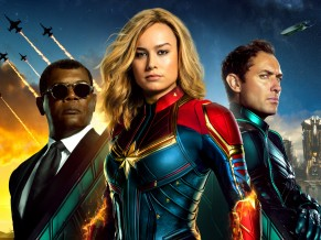 Captain Marvel 4K 5K 2019