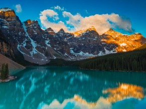 Moraine Lake Lscape at Banff National Park 5K