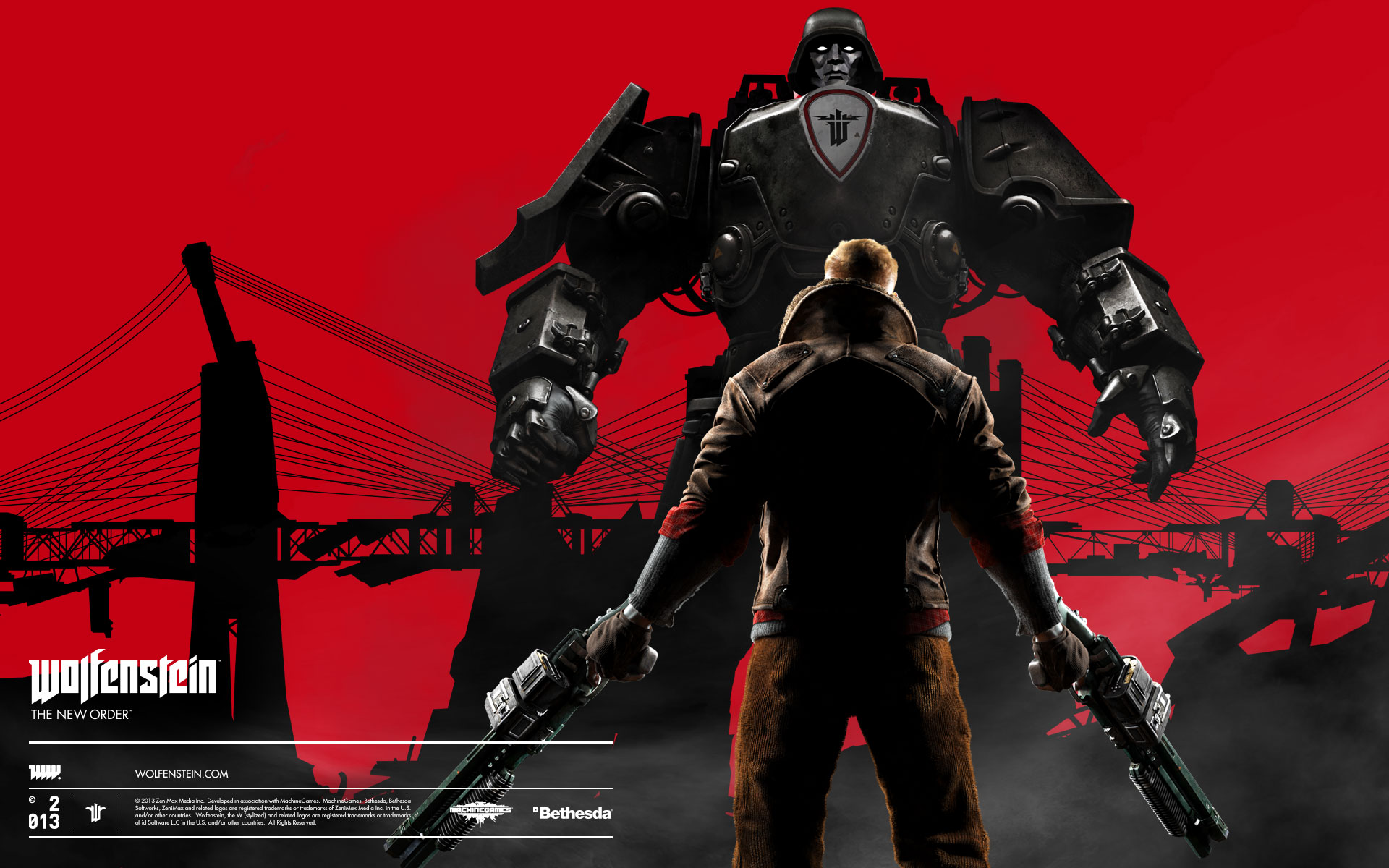 2014 Wolfenstein The New Order Wallpapers Wallpapers Hd