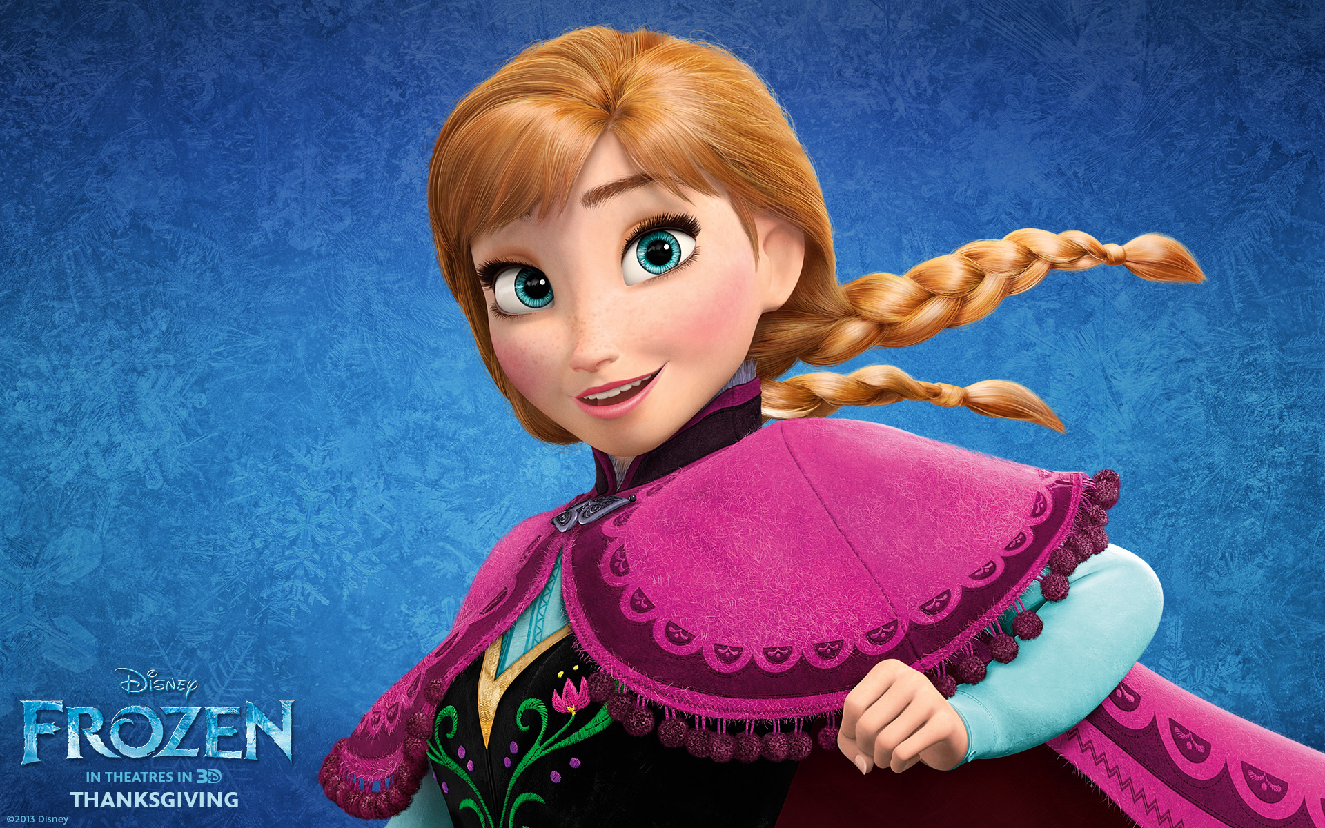 anna in frozen wallpapers | wallpapers hd