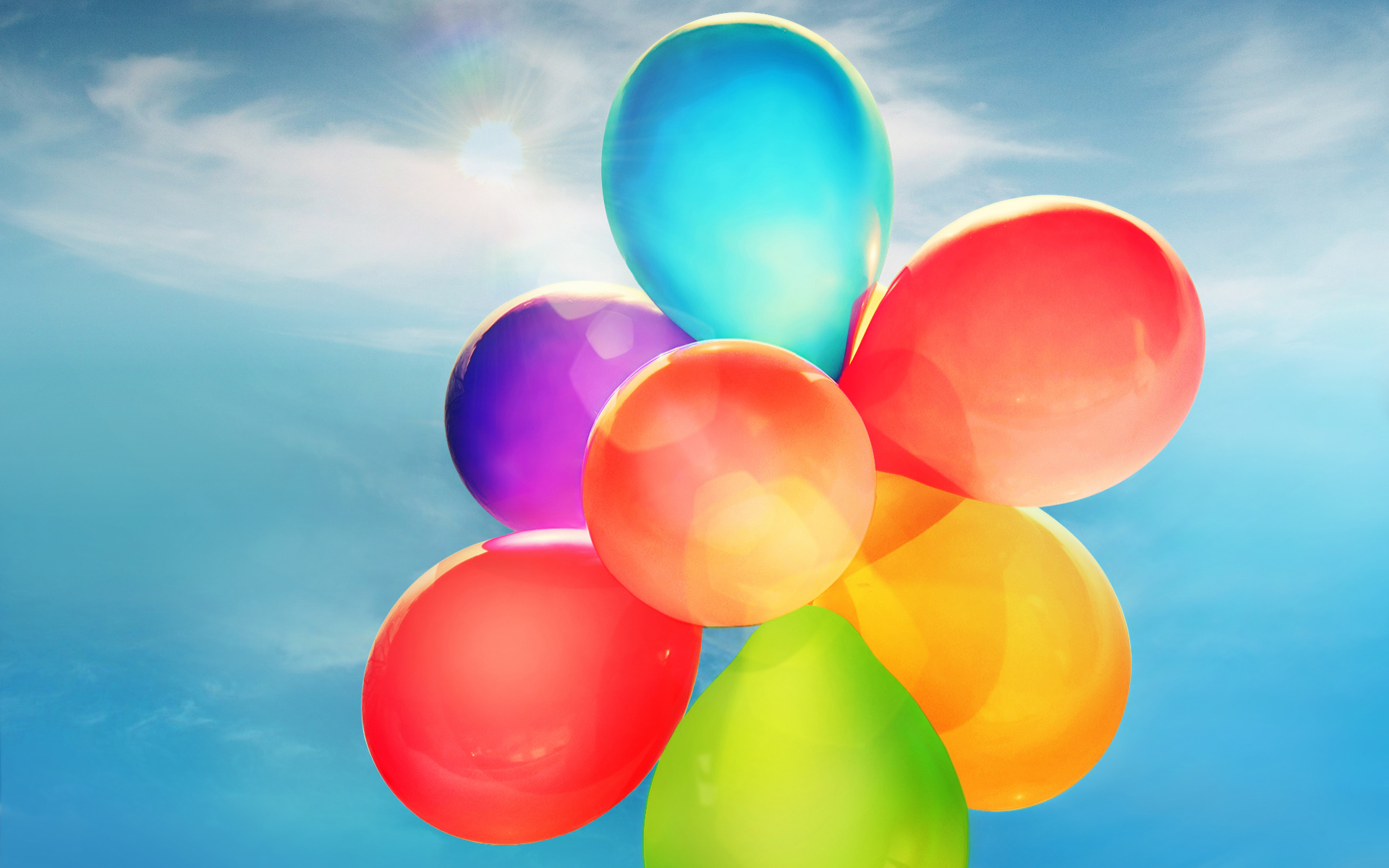 Colorful Balloons Wallpapers