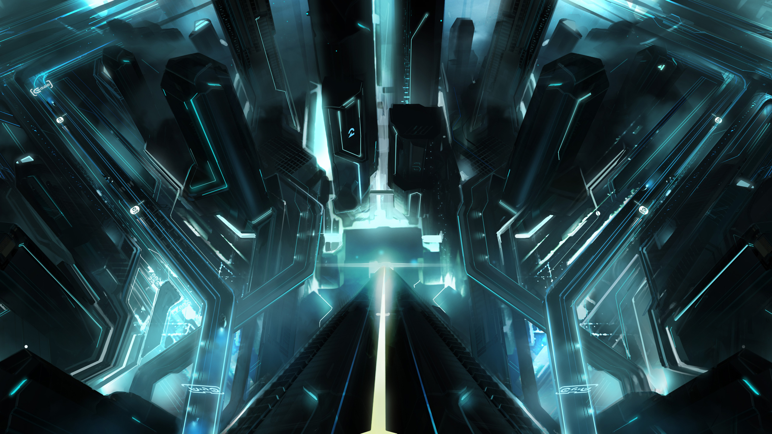 tron city wallpapers | wallpapers hd