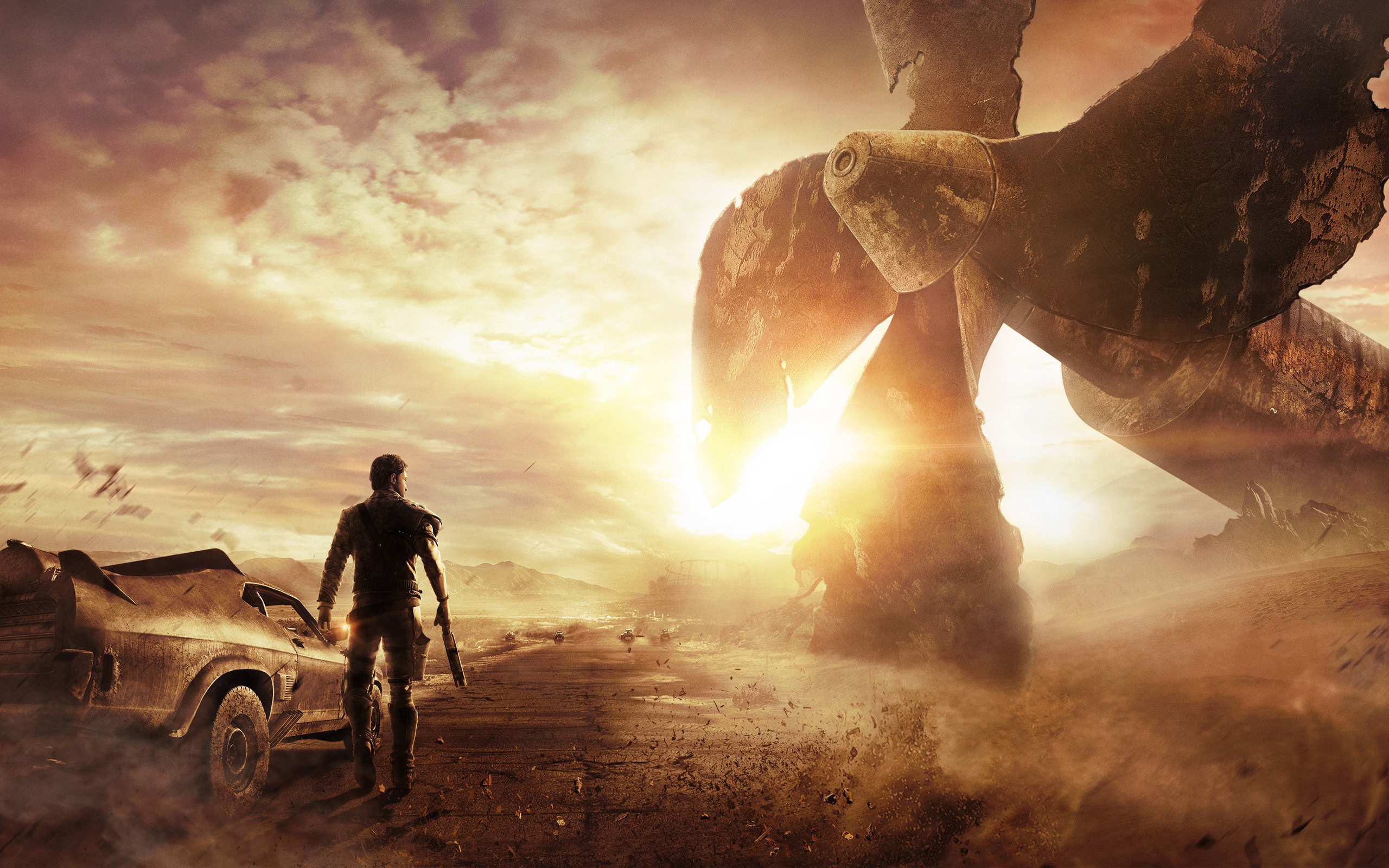 2014 mad max game wallpapers wallpapers hd 2014 mad max game voltagebd Gallery
