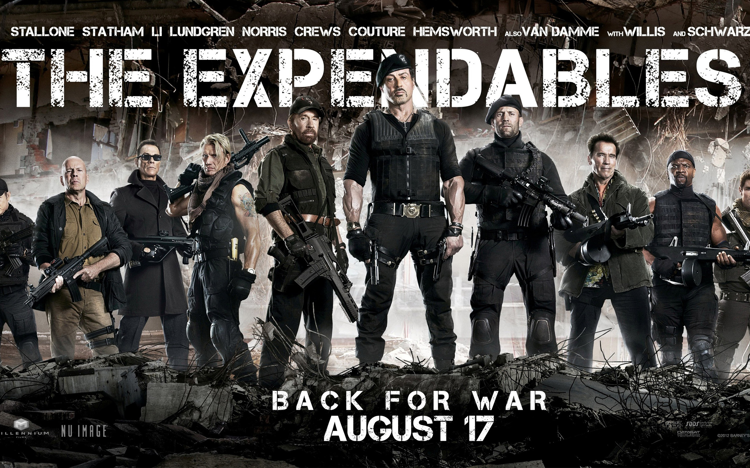 the expendables 2 back for war wallpapers | wallpapers hd