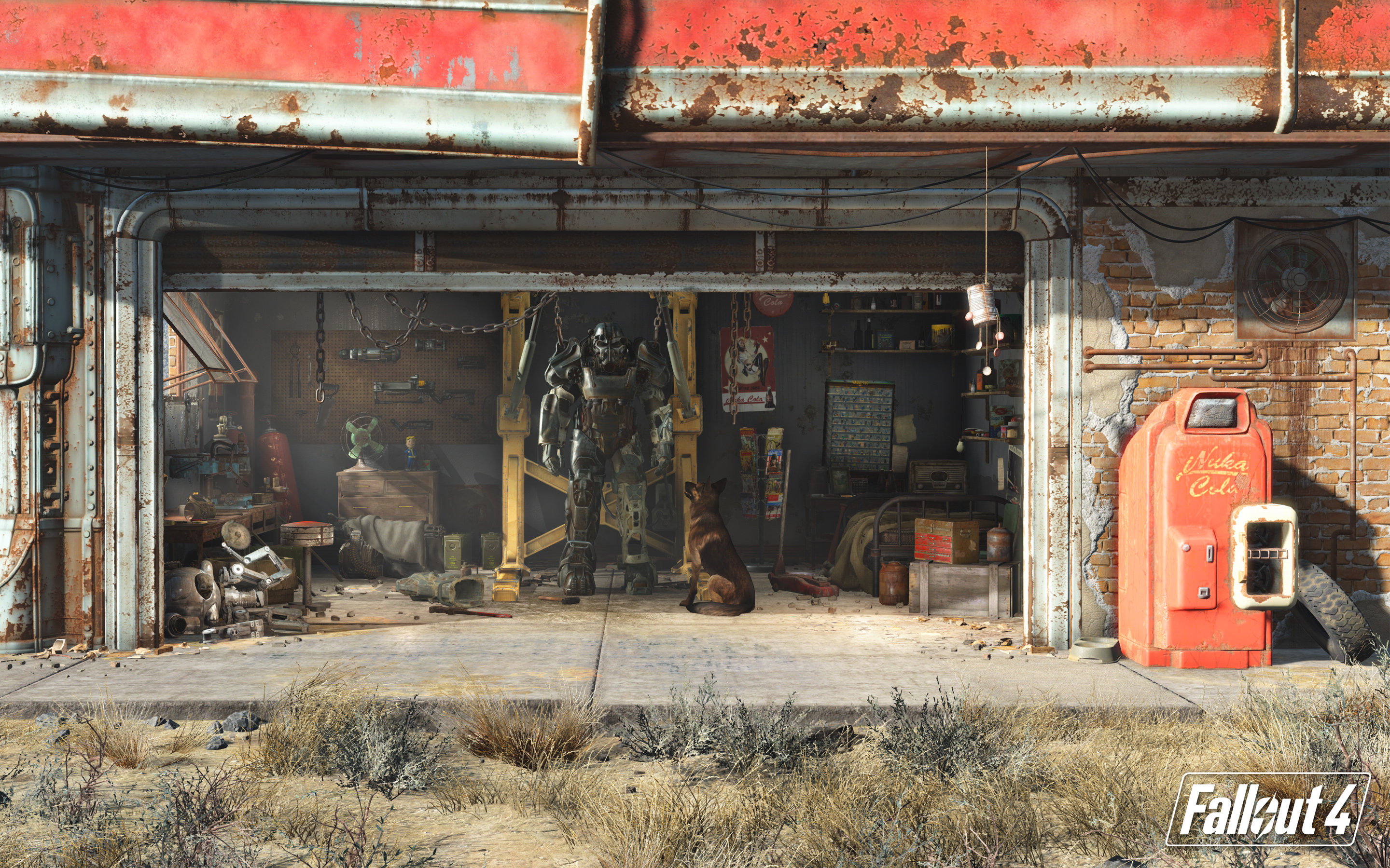 Simple Wallpaper Logo Fallout 4 - fallout_4-widescreen_wallpapers  Graphic_39486.jpg