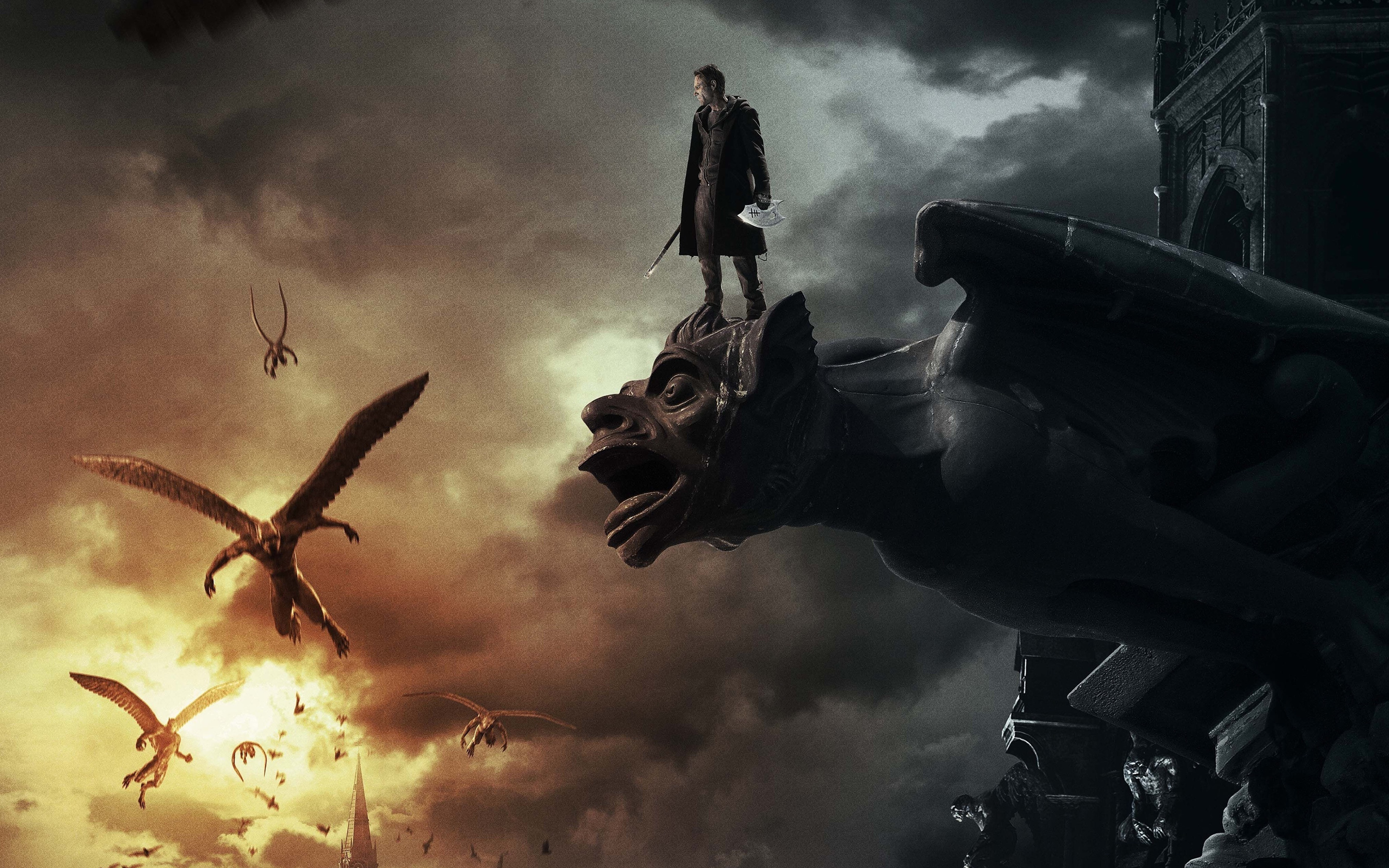 I frankenstein movie wallpaper
