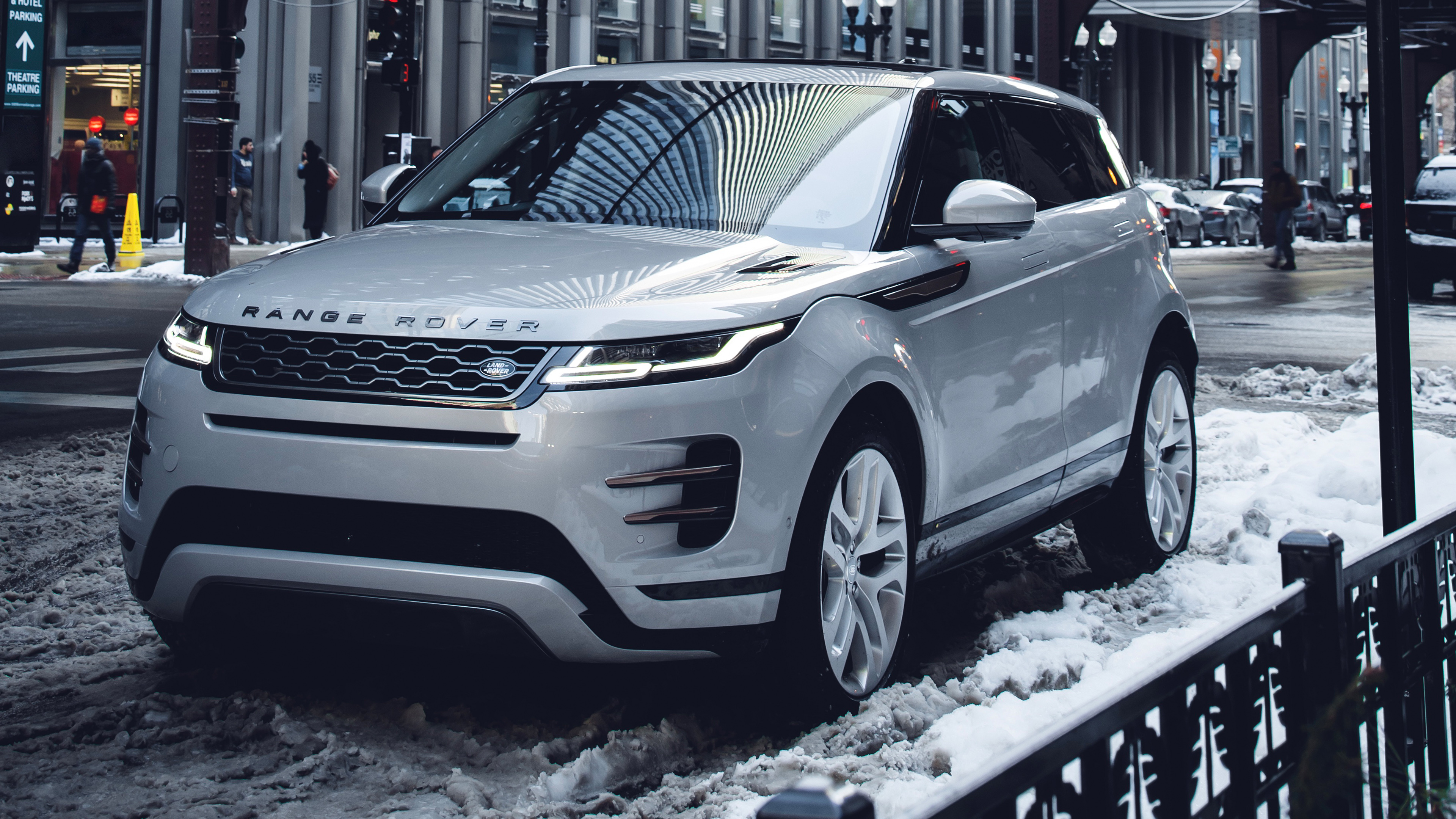 Range Rover Evoque P300 S R Dynamic 2019 4k Wallpapers Wallpapers Hd