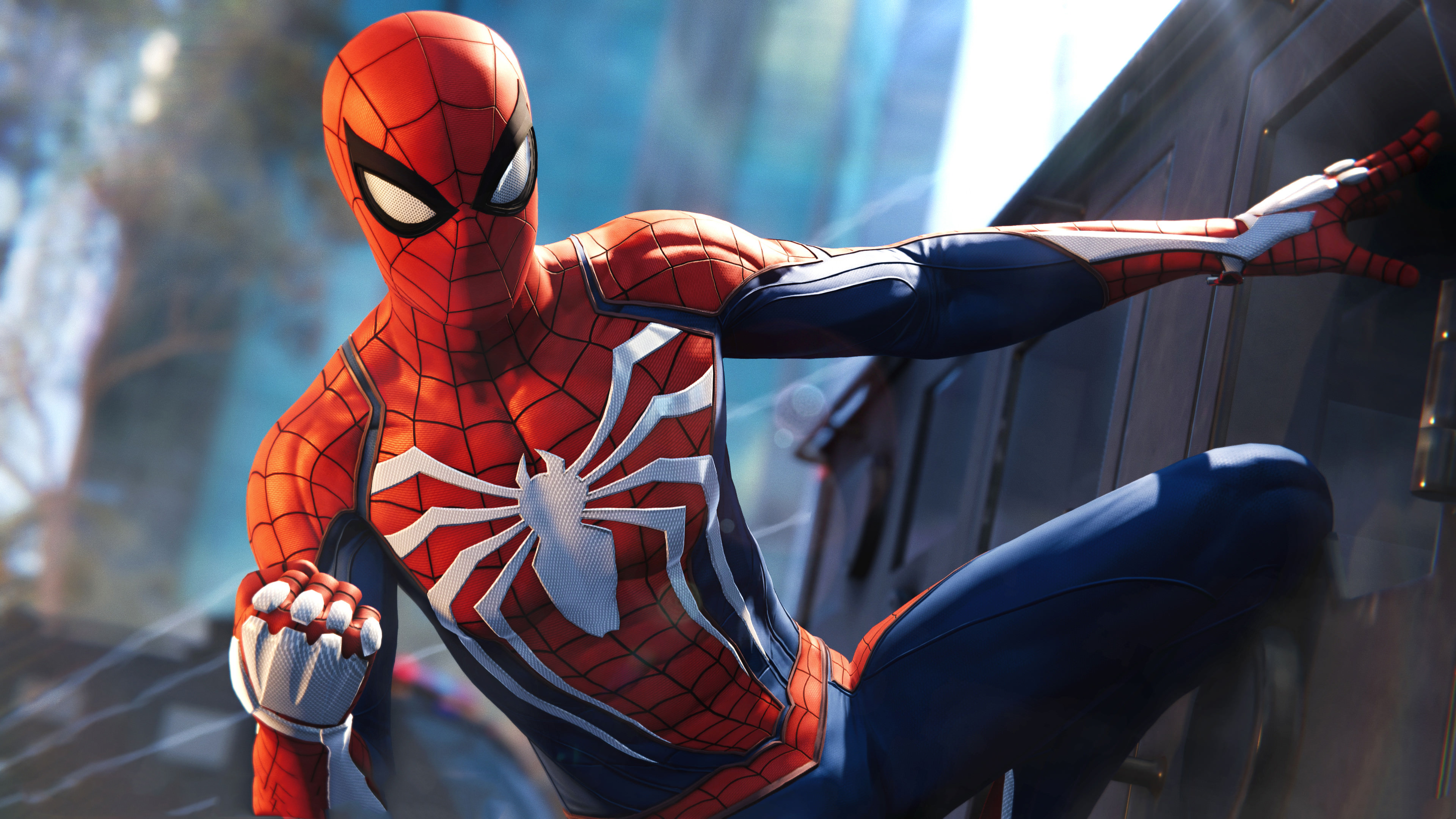 Game Of Spider Man Hd Wallpaper: Spider Man PS4 4K Wallpapers