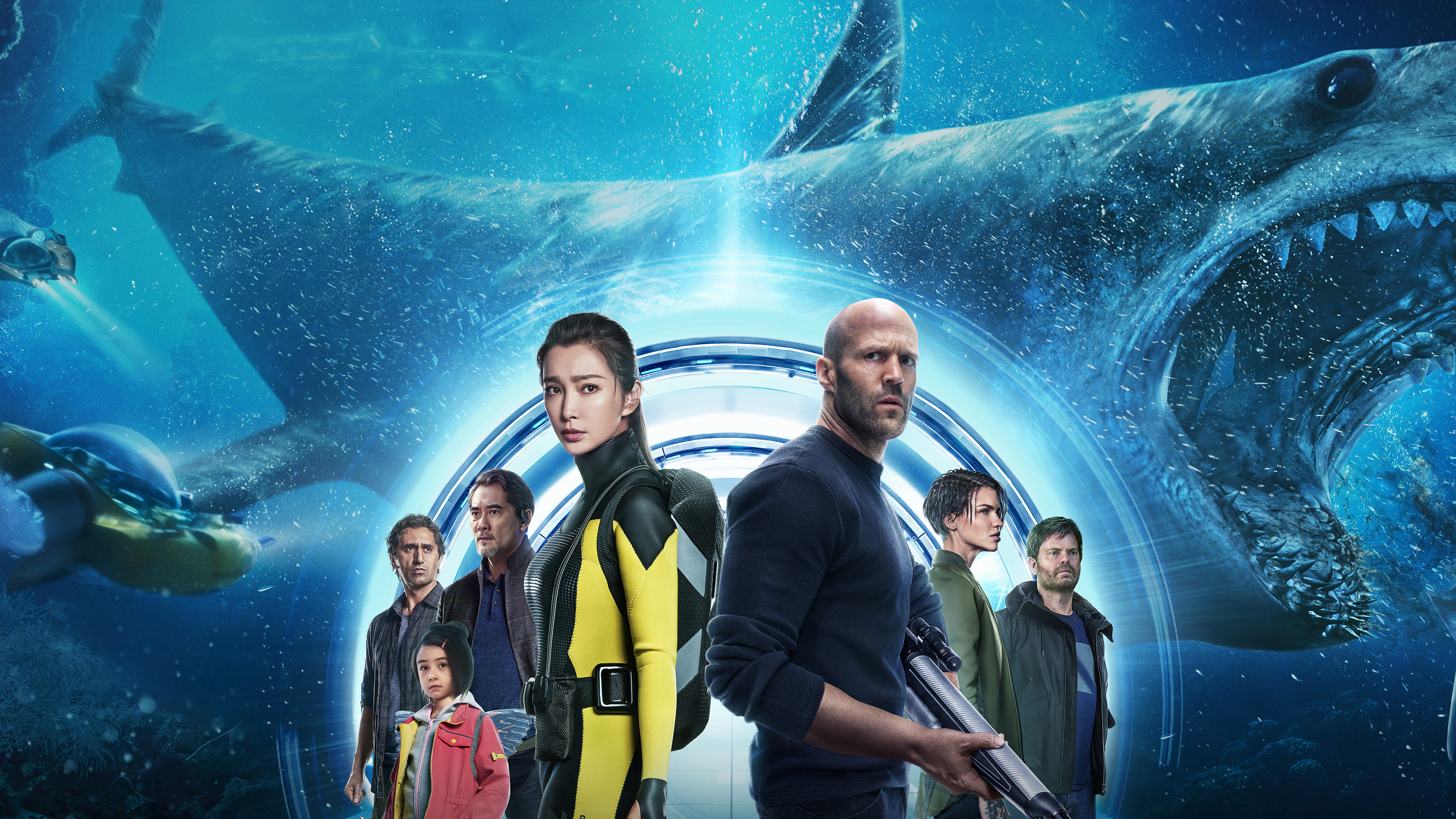 The Meg 2018 Movie 4k Wallpapers Wallpapers Hd