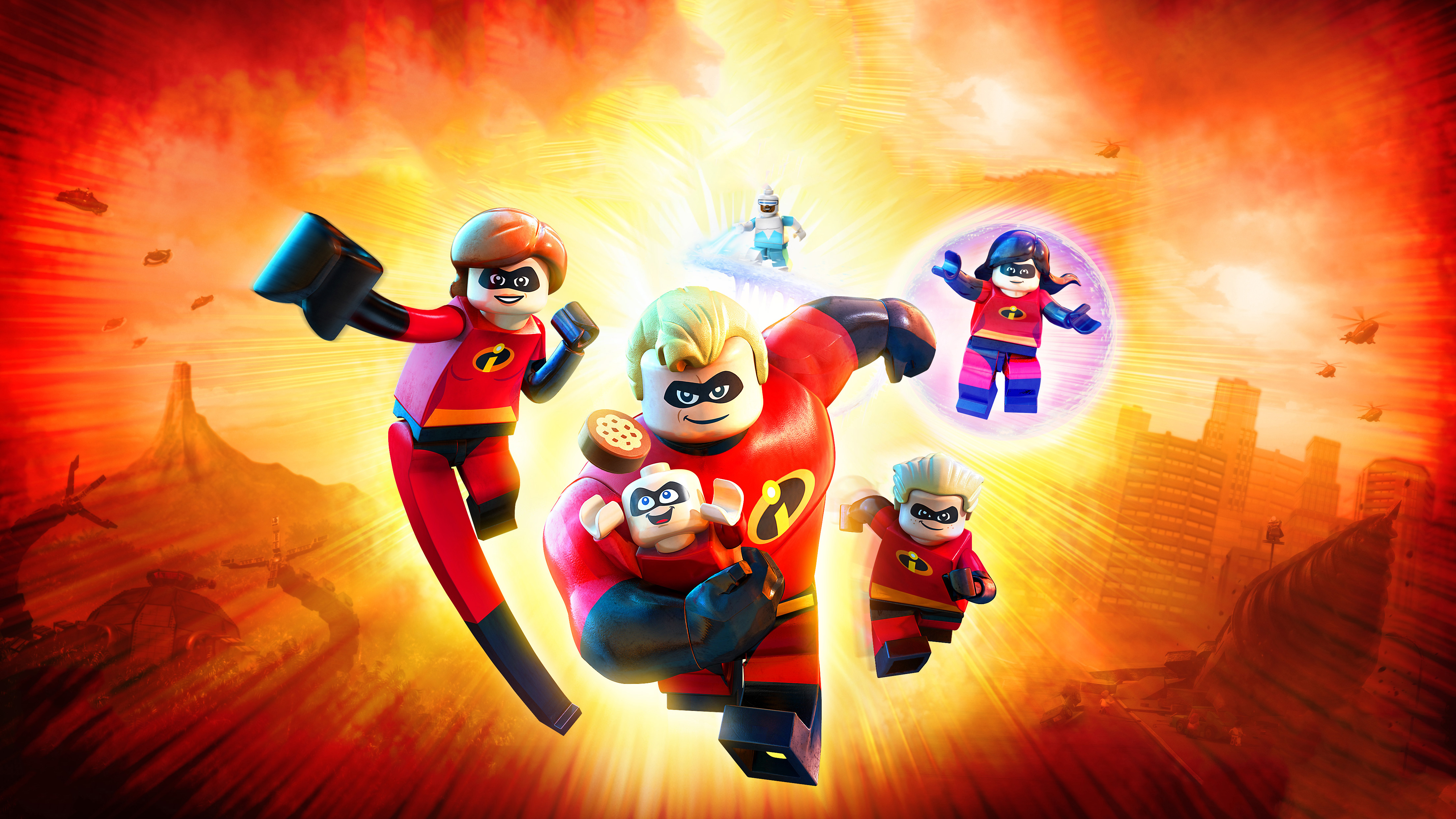 lego incredibles 2 4k game wallpapers | wallpapers hd