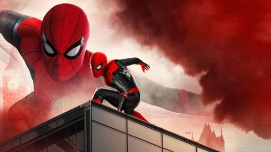 Spider Man Far From Home 2019 4K HD Wallpapers Custom size ...