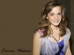 Emma Watson in a Tranparent Top