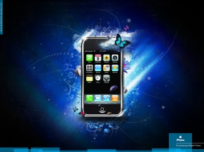 iPhone 3G Blue Fantasy