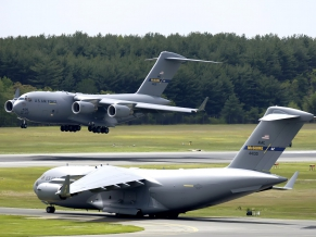 C 17 Globemaster III at McGuire Air Force Base