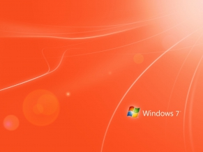 Orange Windows 7