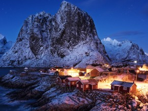 Cabins of Hamnoy
