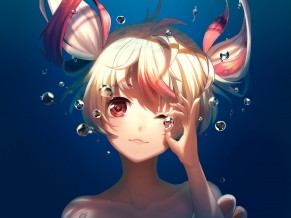 Underwater Anime Artwork