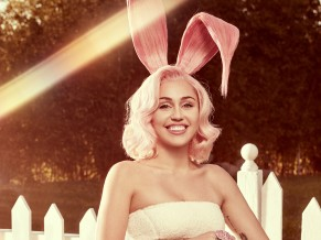 Miley Cyrus Easter Bunny 2018