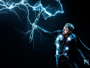 Thor with Stormbreaker