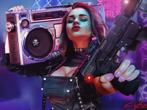 Cyberpunk 2077 Cosplay 4K HD