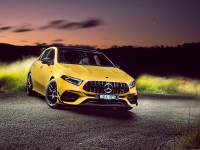 Mercedes AMG A 45 S 4MATIC 2020 4K