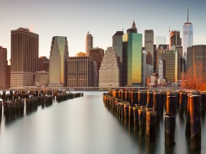 New York City Skyline 4K