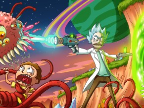 Rick Morty Attacking 4K HD