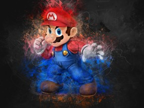 Super Mario Artwork 4K
