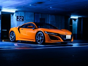 Honda NSX Orange 5K