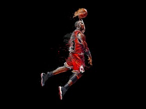 Michael Jordan Artwork 5K